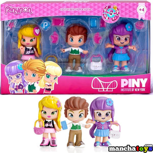PINYPON 3 FIGURAS PINY JULIA WILL LILITH