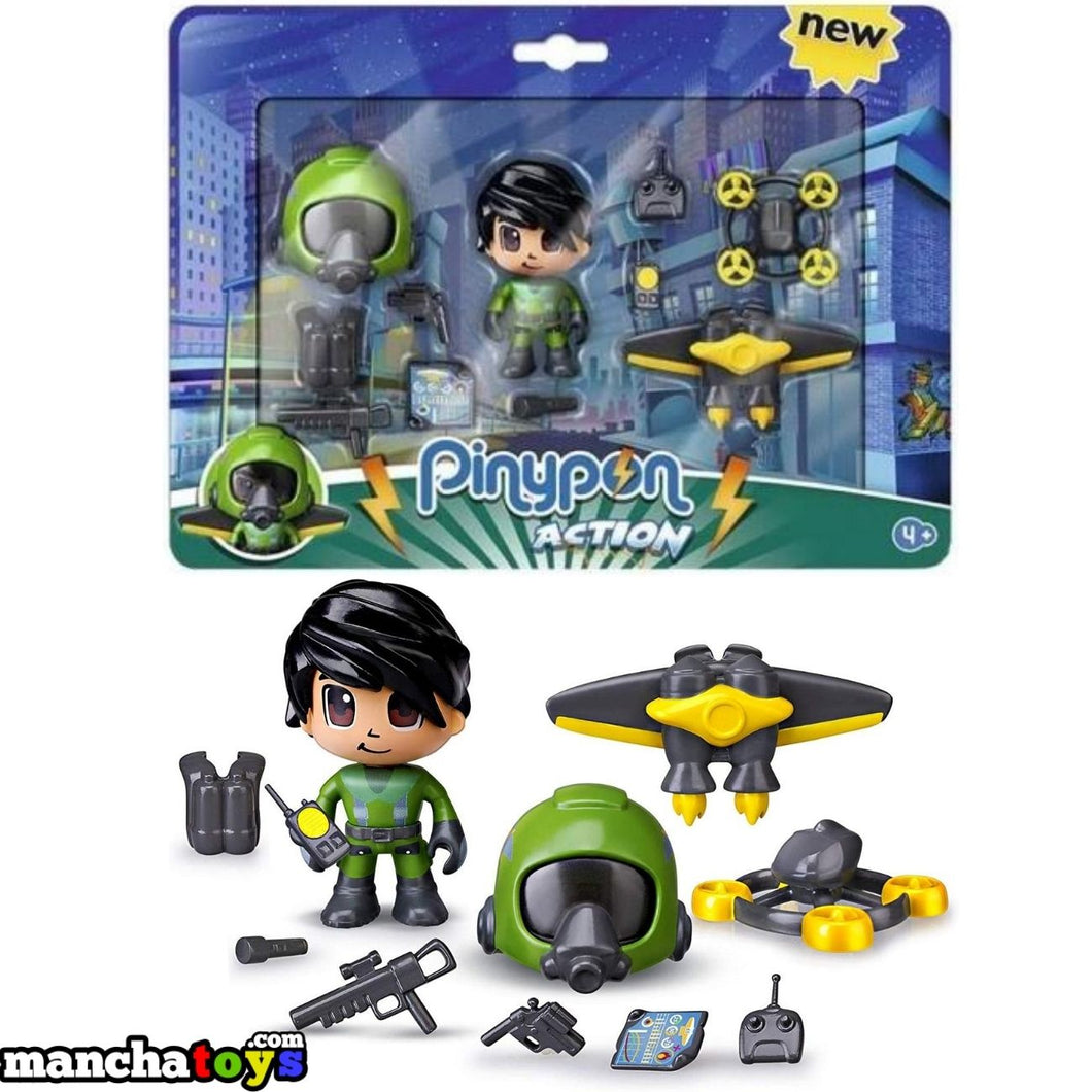PINYPON ACTION PACK JET