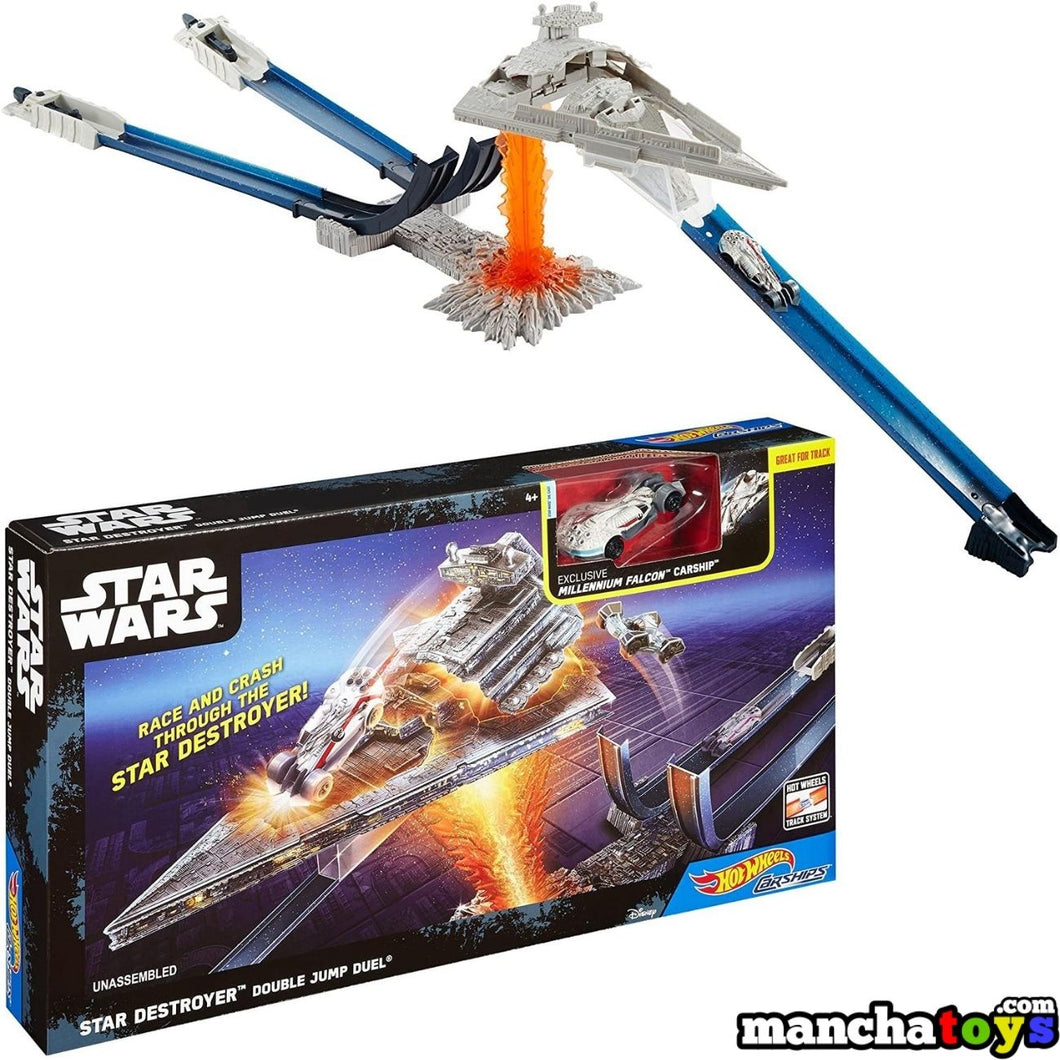 PISTA HOT WHEELS STAR WARS ESTELAR DOBLE SALTO