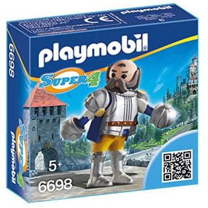 PLAYMOBIL SUPER 4 Guardia Real Sir ULF (6698)
