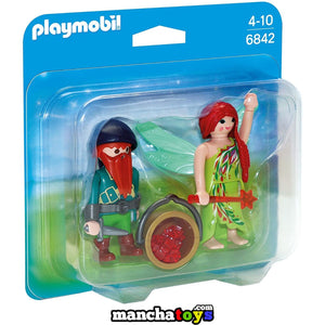 DUO PACK HADA Y ELFO PLAYMOBIL (6842)