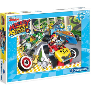 PUZZLE 100 PIEZAS MICKEY AND THE ROADSTER RACERS