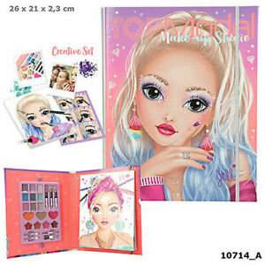 CARPETA GUÍA DE MAQUILLAJE TOP MODEL 10714