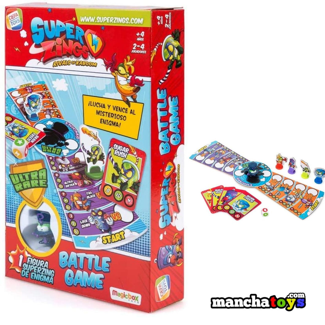 SUPERZINGS BATTLE JUEGO ENIGMA