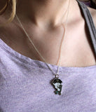 Crywolf Rain Wolfie Necklace