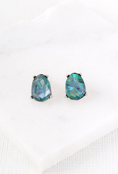 Vintage Style Opal Earrings