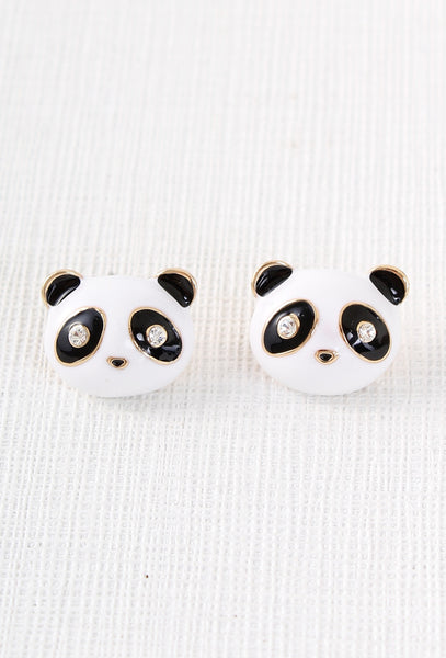 Cute Panda Earrings Main