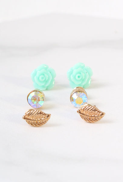 In Bloom Earring Set