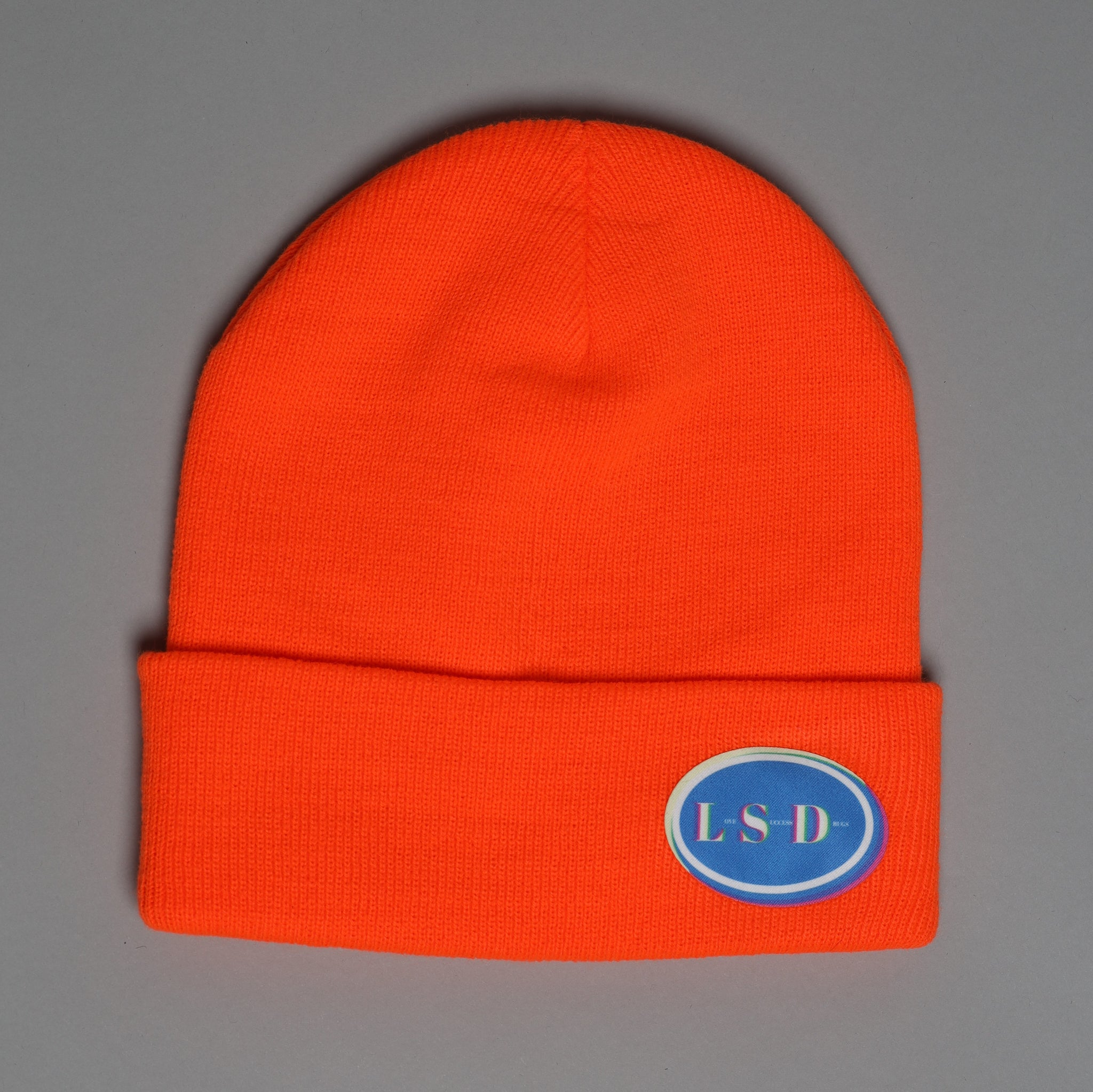 LSD Beanie in Safety Orange