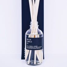 Load image into Gallery viewer, Basik Candle Co. No. 11 Pomelo + Ginger-3 oz. Diffuser