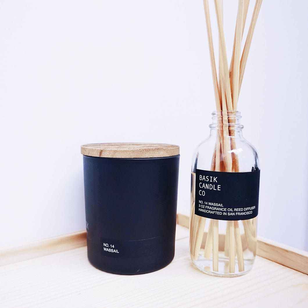 Basik Candle Co. No. 14 Wassail - Limited Time Scent