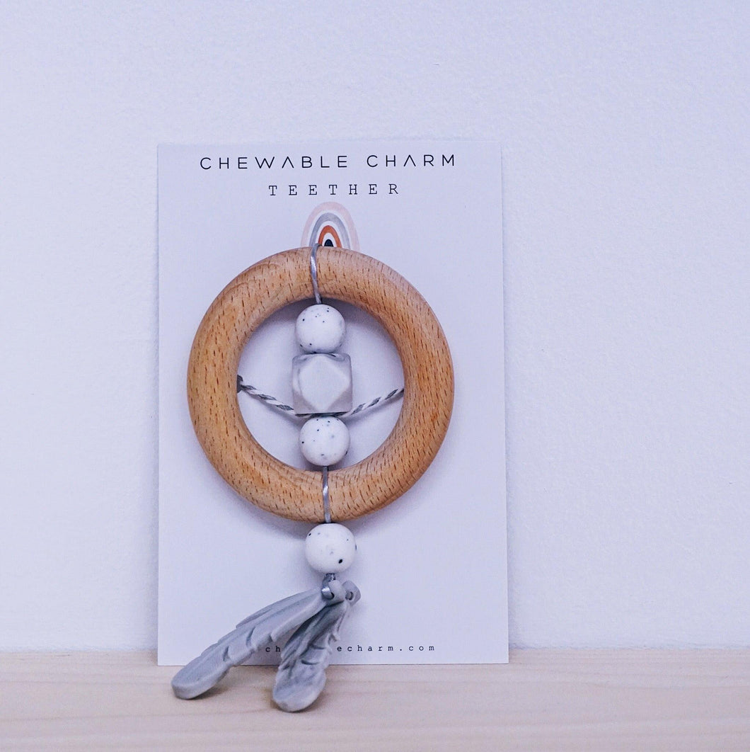 Dreamcatcher Teether - Moonstone
