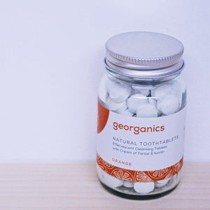 Georganics Orange Tooth Tablets