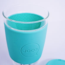 Load image into Gallery viewer, Plastic Free Coffee Cup LIGHT TEAL -16oz