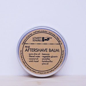 Aftershave Balm: Evergreen
