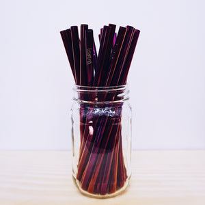 Purple Straw