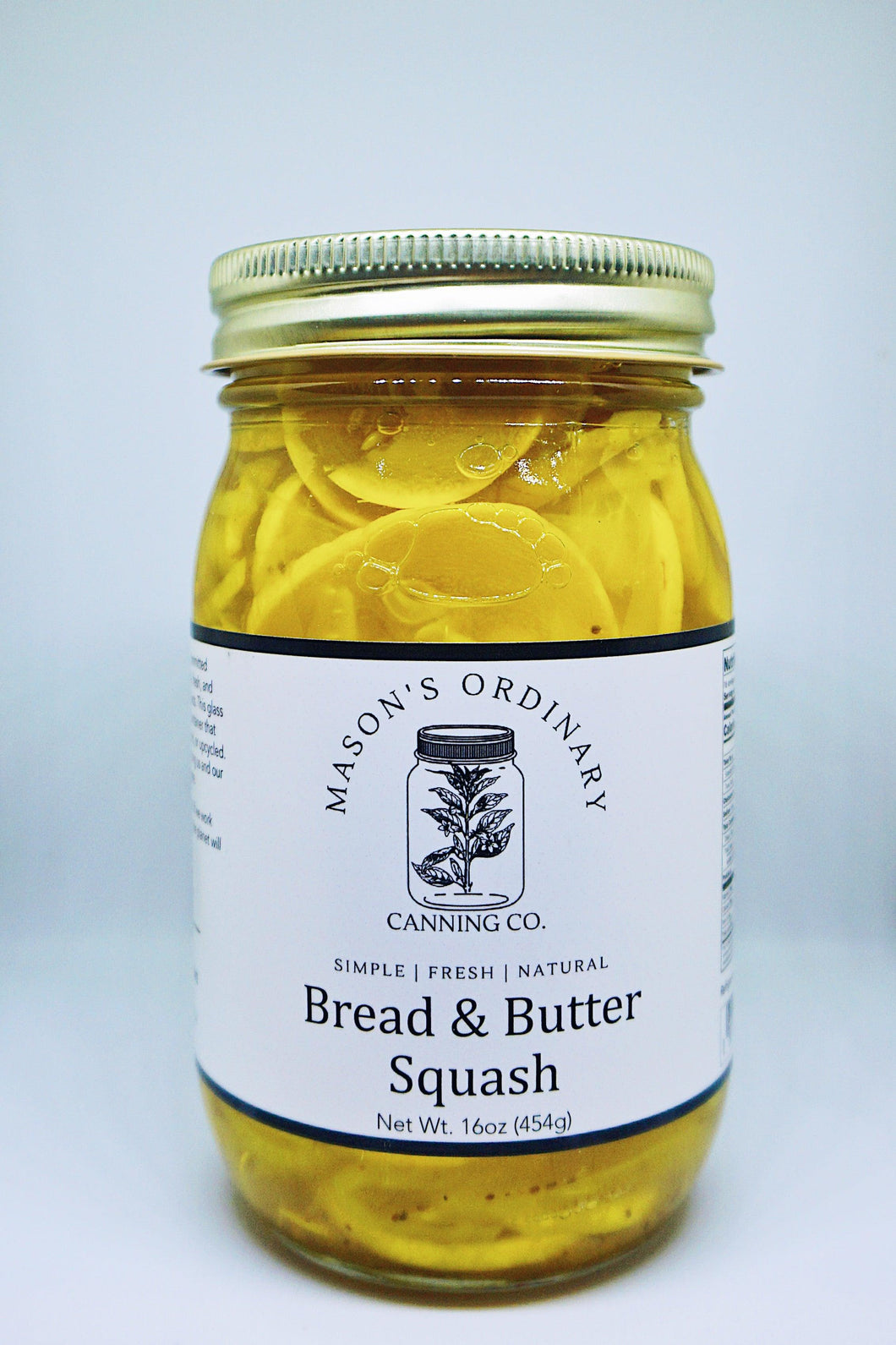 Bread & Butter Pickled Squash