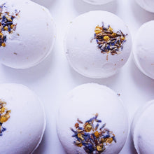 Load image into Gallery viewer, Lavender & Chamomile Bath Bomb