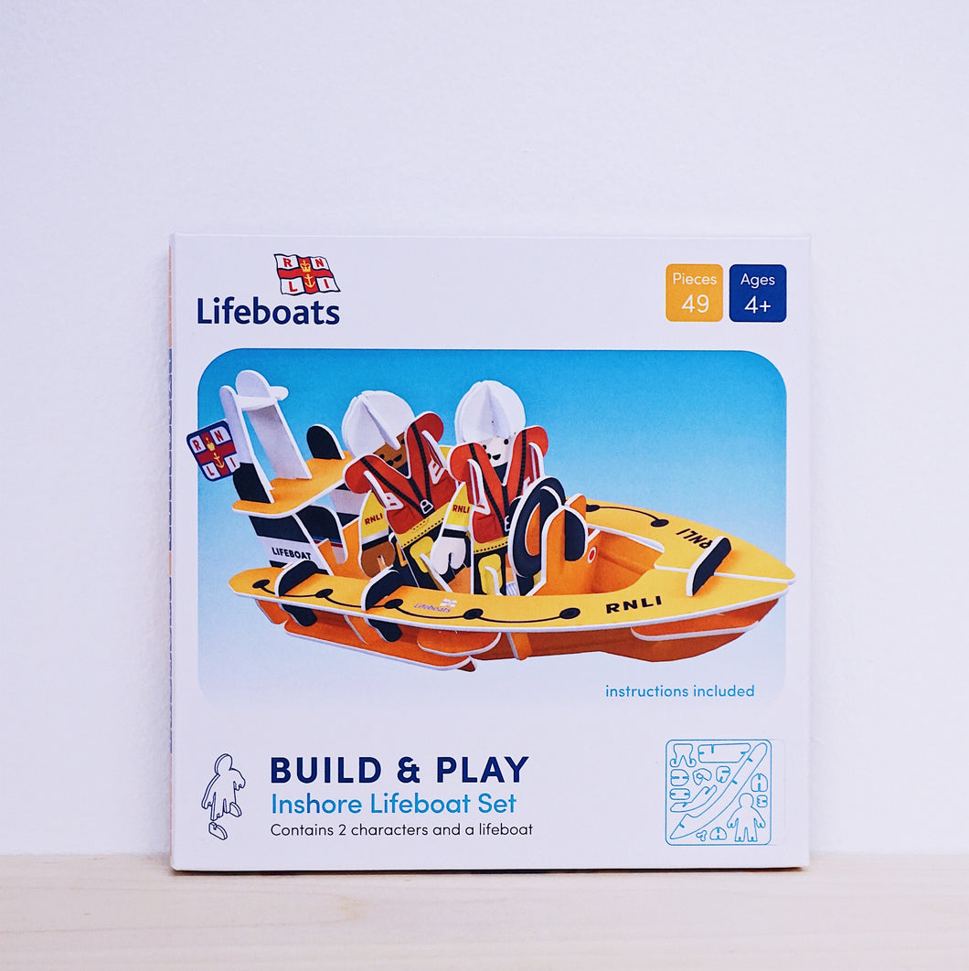 Play Press RNLI Inshore Lifeboat Play Set