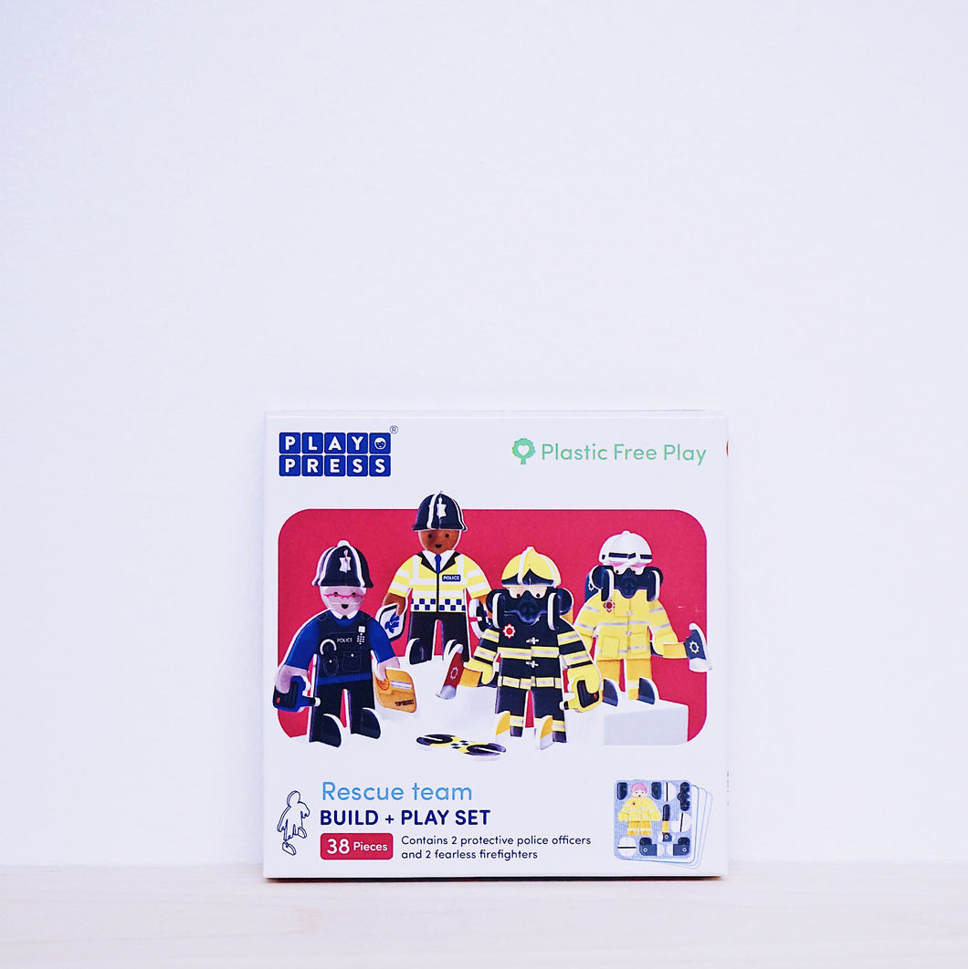 Play Press Rescue Team Play Set
