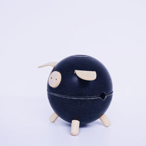 Piggy Bank: Black