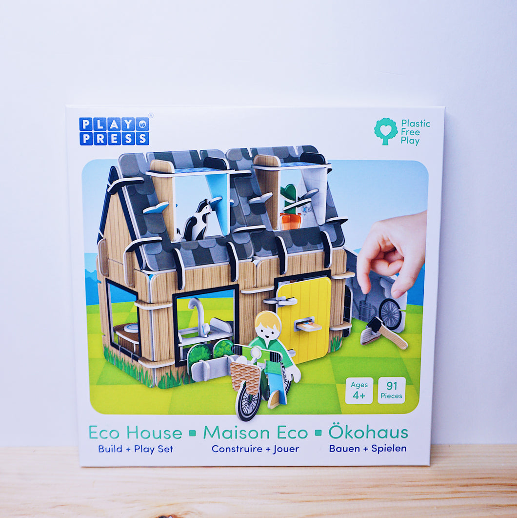 PlayPress Eco House Play Set