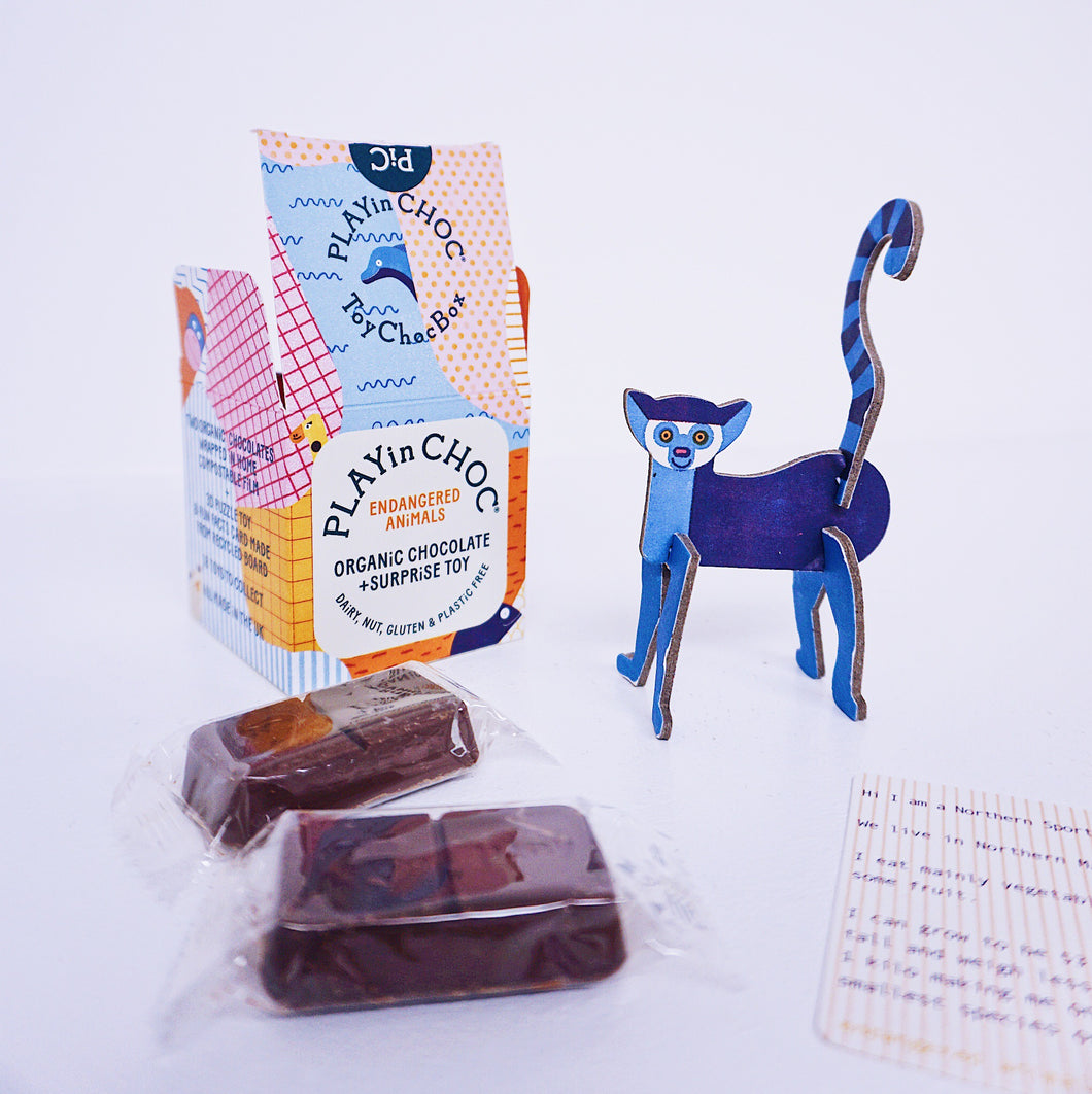 PLAYin CHOC ToyChoc Box: Endangered Animals