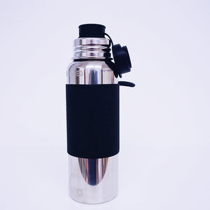 Insulated Sport Bottle-22 oz./650 ml.: Black Sleeve