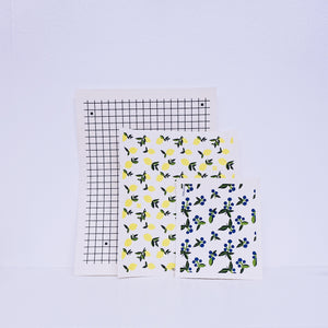 XL Graph Swedish Sponge Cloth Mat