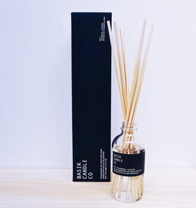 Basik Candle Co. No. 3 Teakwood + Leather -3 oz. Diffuser