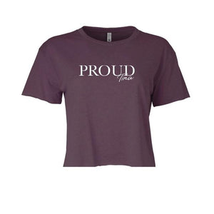 TINA Proud Cropped Tee