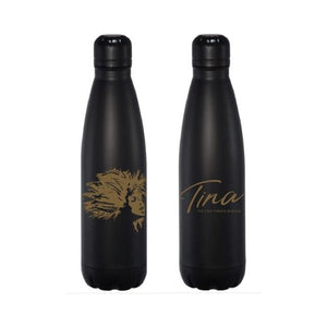 TINA Gold Face Water Bottle