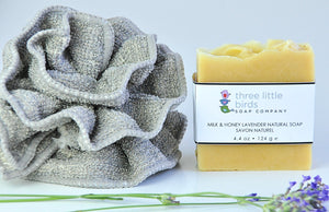 Milk, Honey, and Lavender - three little birds soap company