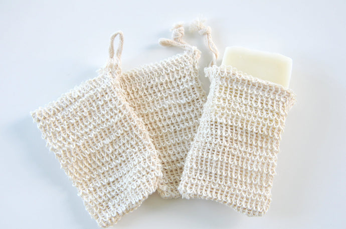 Sisal Soap Bag - three little birds soap company