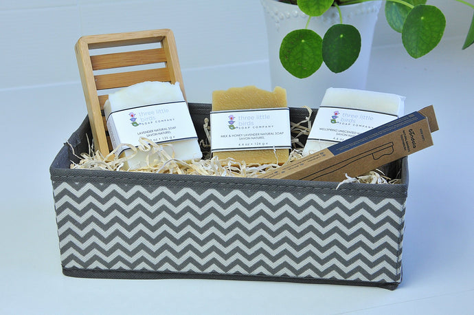 Thinking of You Gift Basket - three little birds soap company