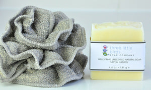 Wellspring Fragrance-Free Natural Soap - three little birds soap company