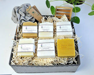 Large Wellness Basket - three little birds soap company