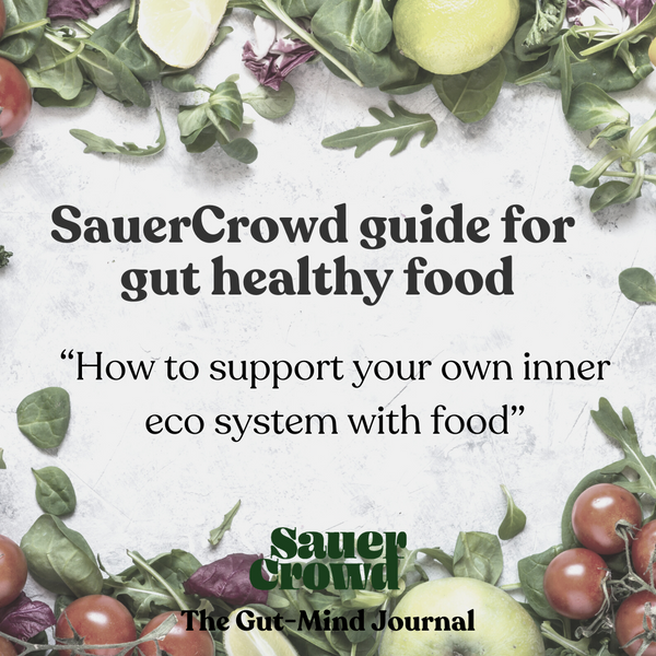 SauerCrowd guide for gut healthy food