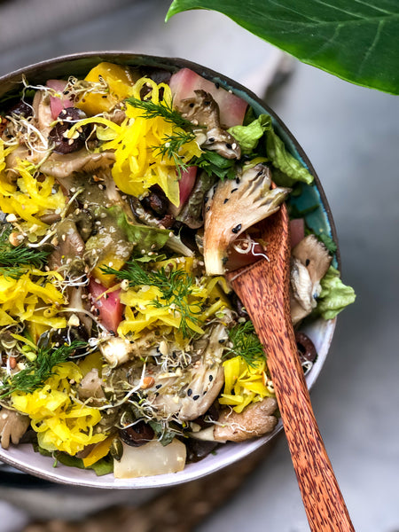 Golden Kraut Spring Bowl