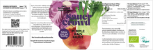 Load image into Gallery viewer, Purple Rain Kraut (unpasteurised) - SauerCrowd