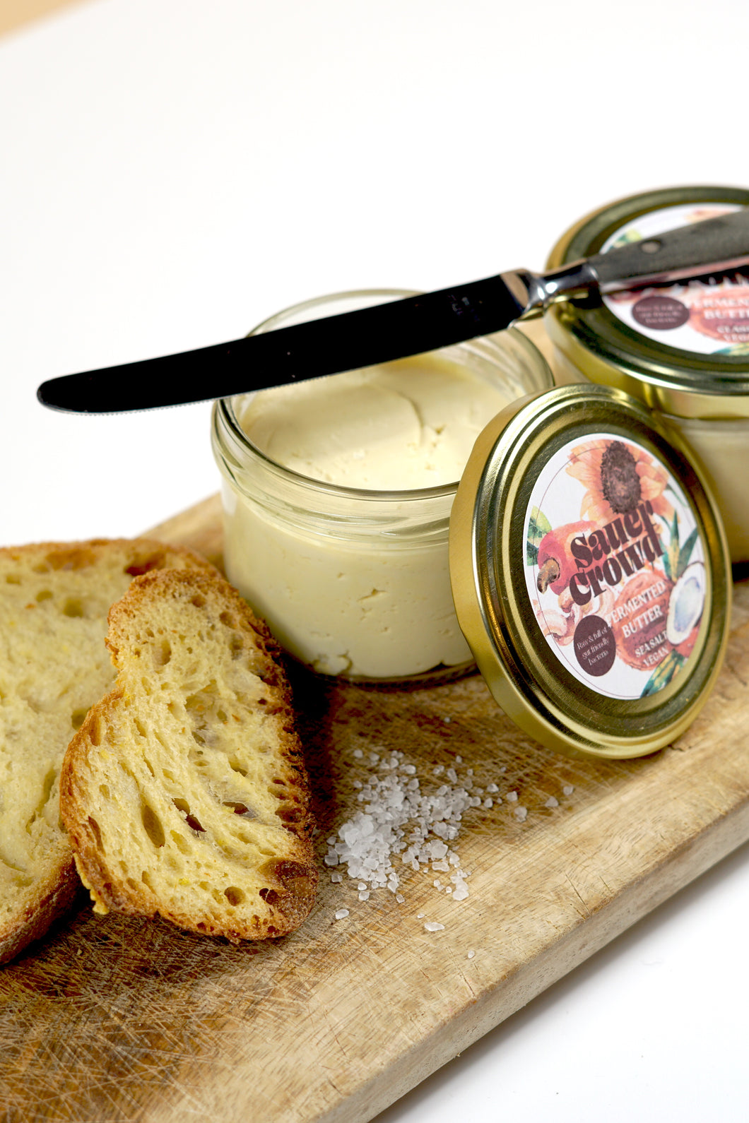 Fermented B(e)tter Spread (Sea Salt) Vegan - SauerCrowd