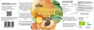 Golden Kraut (unpasteurised) - SauerCrowd
