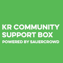 Load image into Gallery viewer, KR Community Support Box - SauerCrowd
