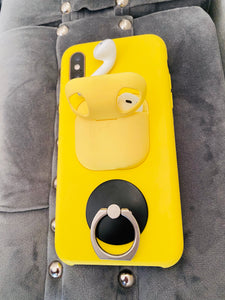 iPhone XS two in one case protector with ring