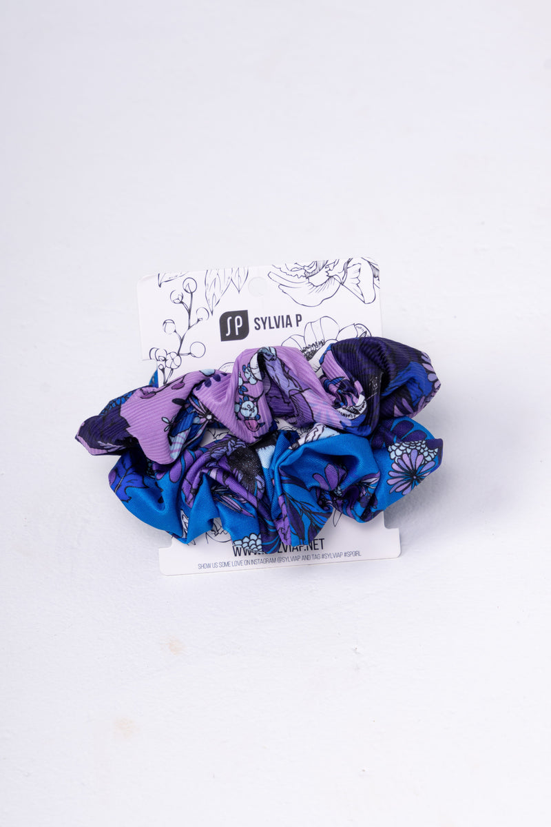 Beach Safari Scrunchie 2pk