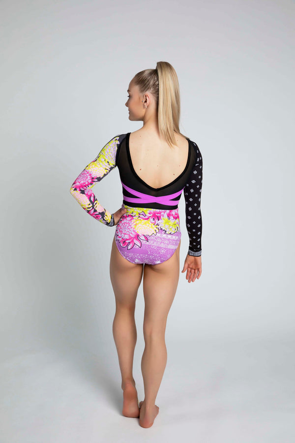 Eastern Bloom Long Sleeve Leotard