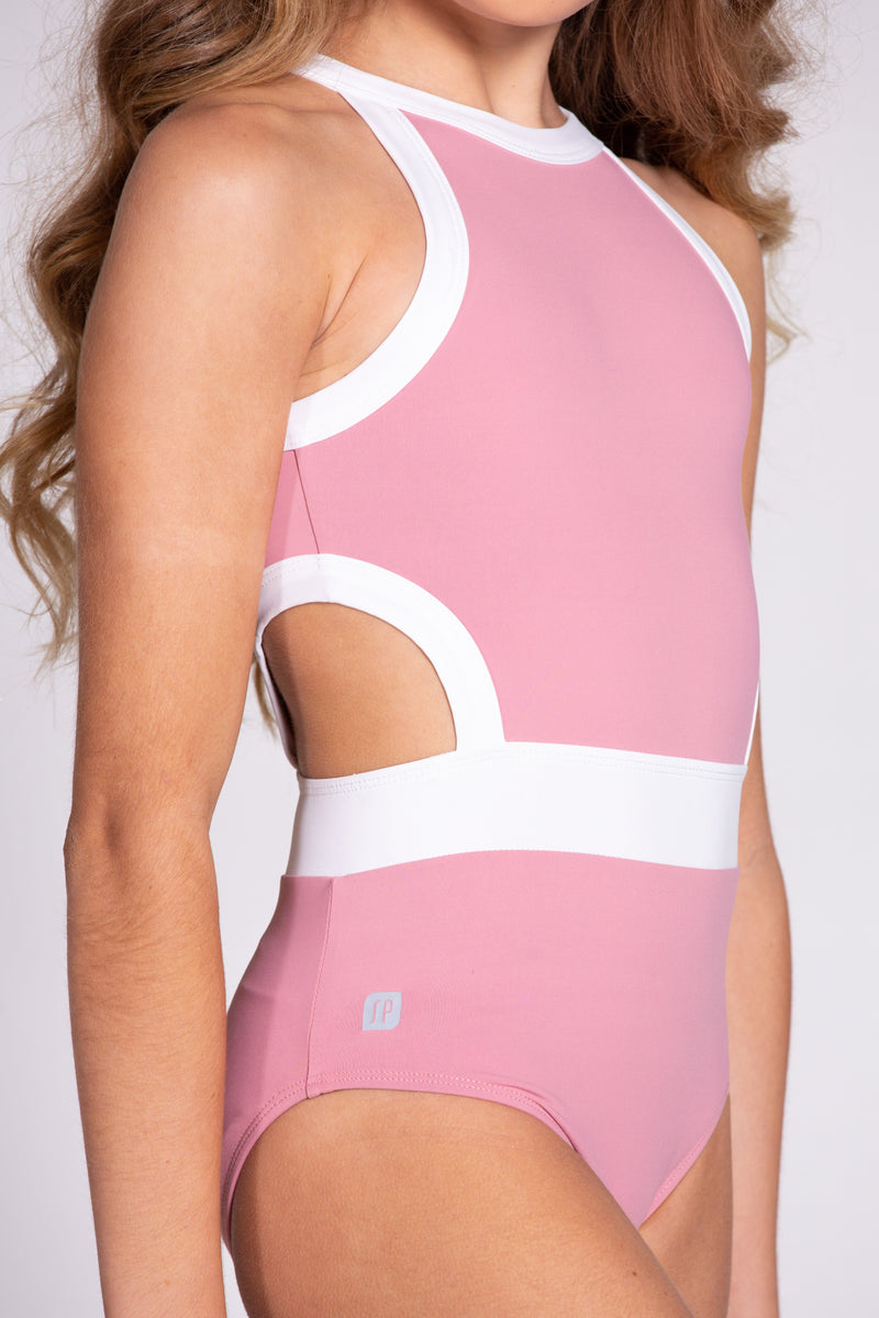 Blush Wisteria Leotard