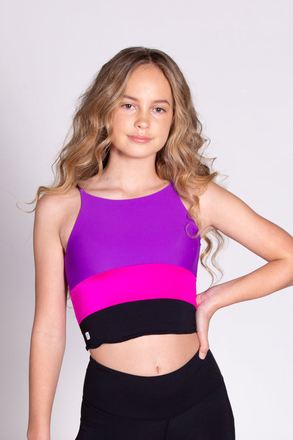 Flashdance Cropped Singlet