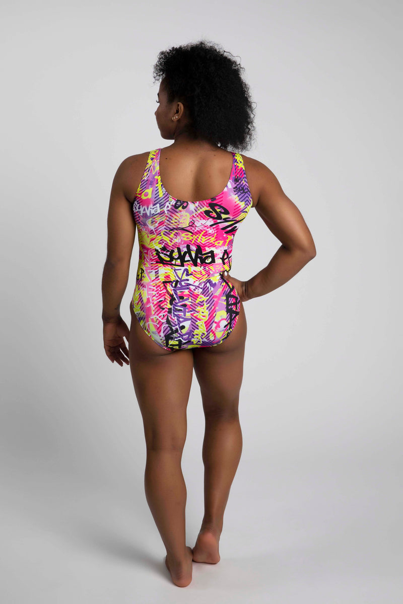 Graffiti Girl Leotard