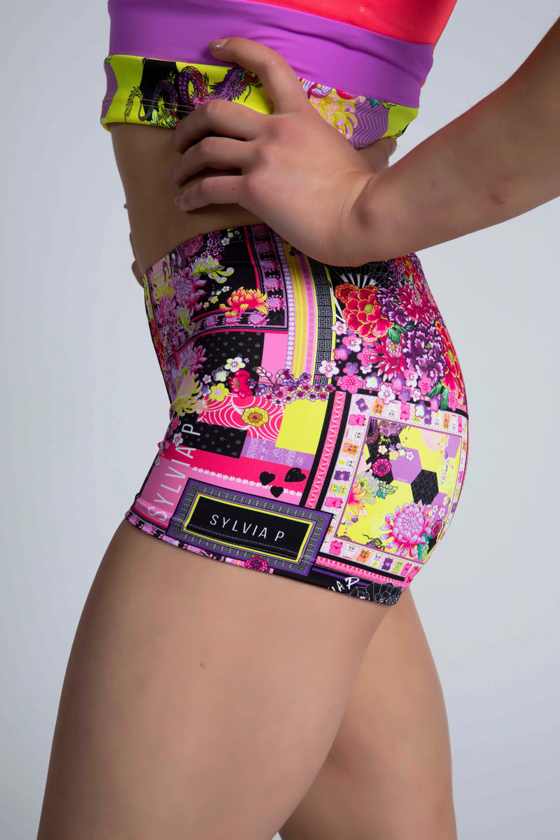 Origami Patchwork Short